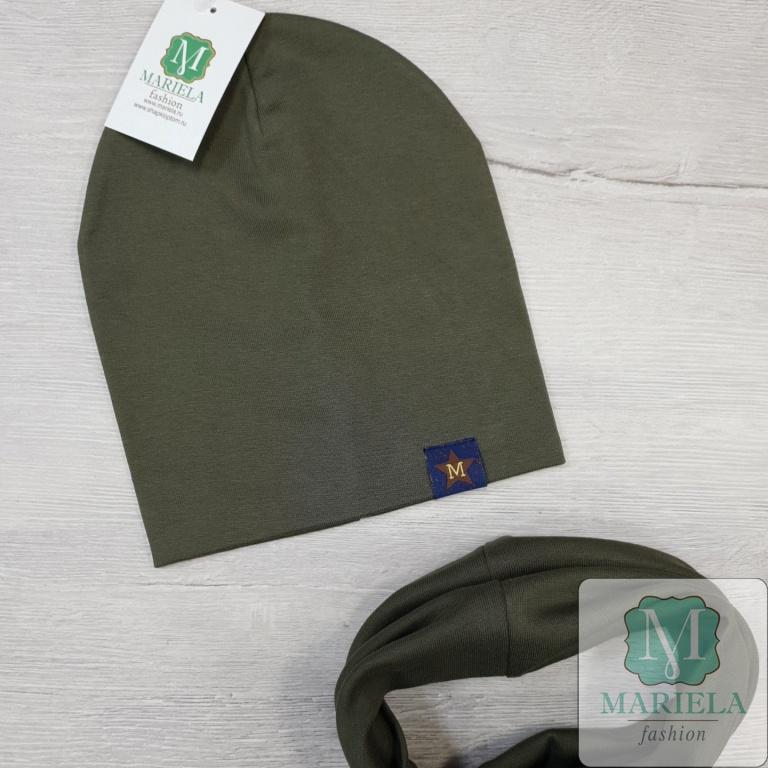 Комплект (шапка+снуд) фирмы Mariela