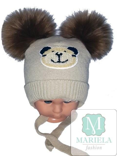 Шапка детская для мальчика фирмы MARIELA арт. 49021