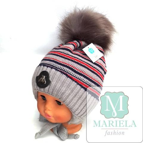 Шапка детская для мальчика фирмы MARIELA арт. 49266