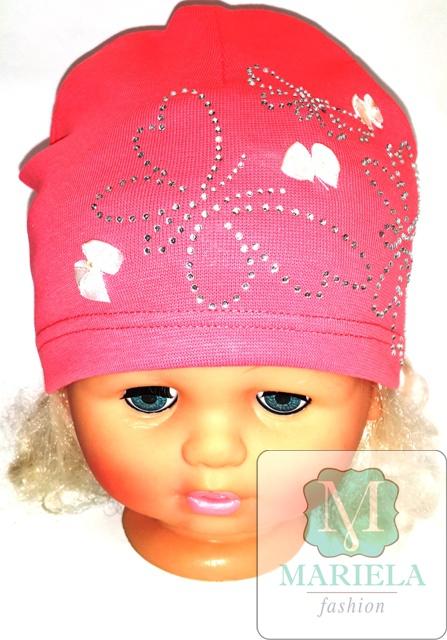 Шапка детская для девочки фирмы MARIELA арт. 49313