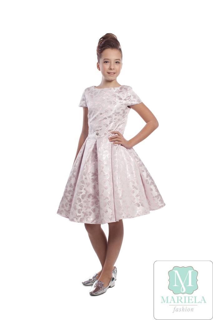 Платье для девочки арт.5201 (розовое)